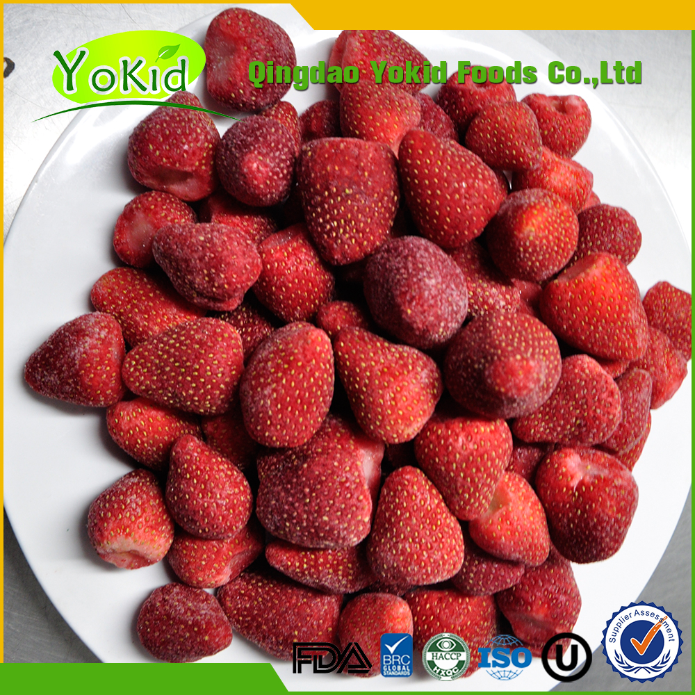 2017 New Harvested IQF Frozen AM13 Strawberry