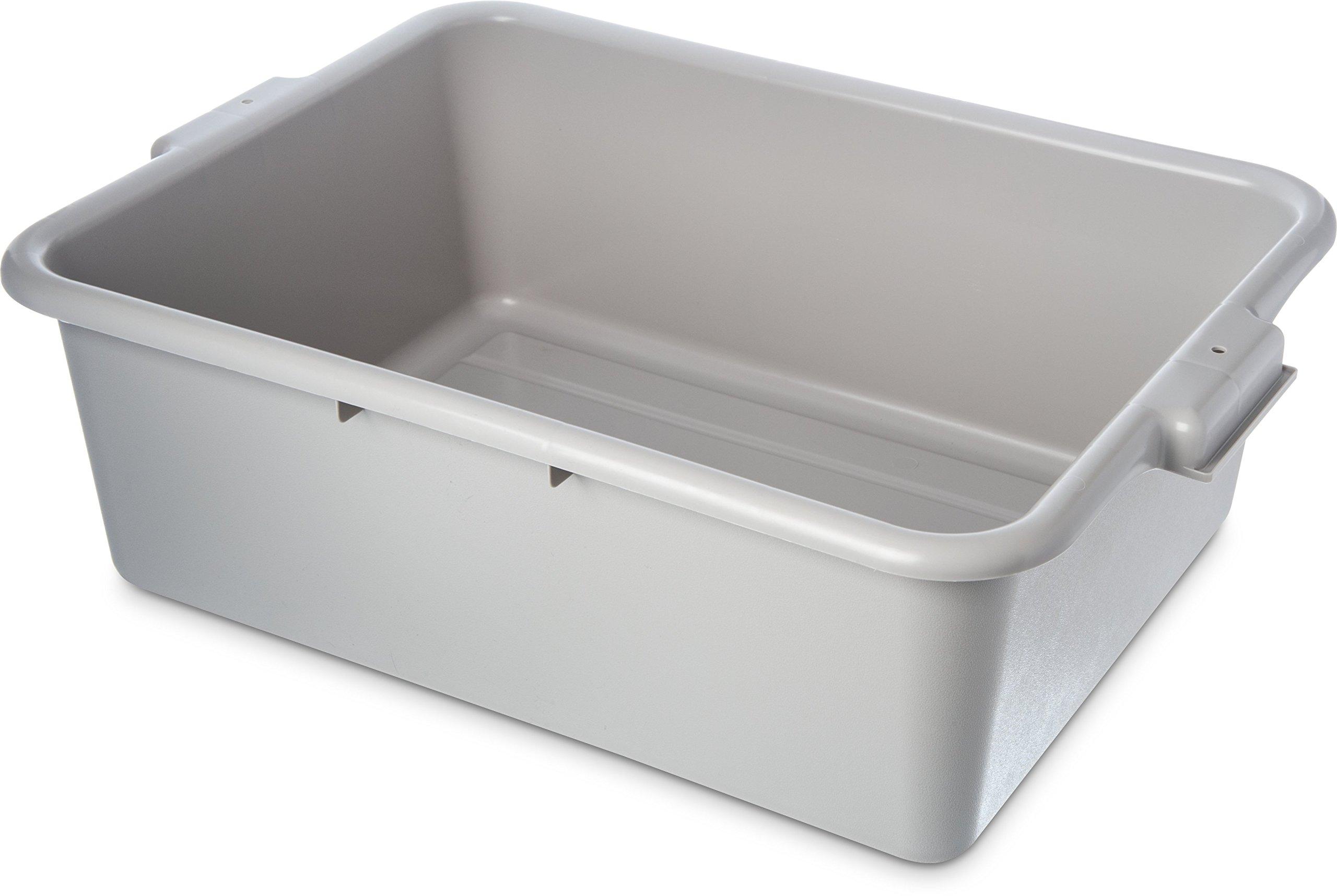 Black 7 Deep Carlisle 4401103 Comfort Curve Bus Box//Tote Box