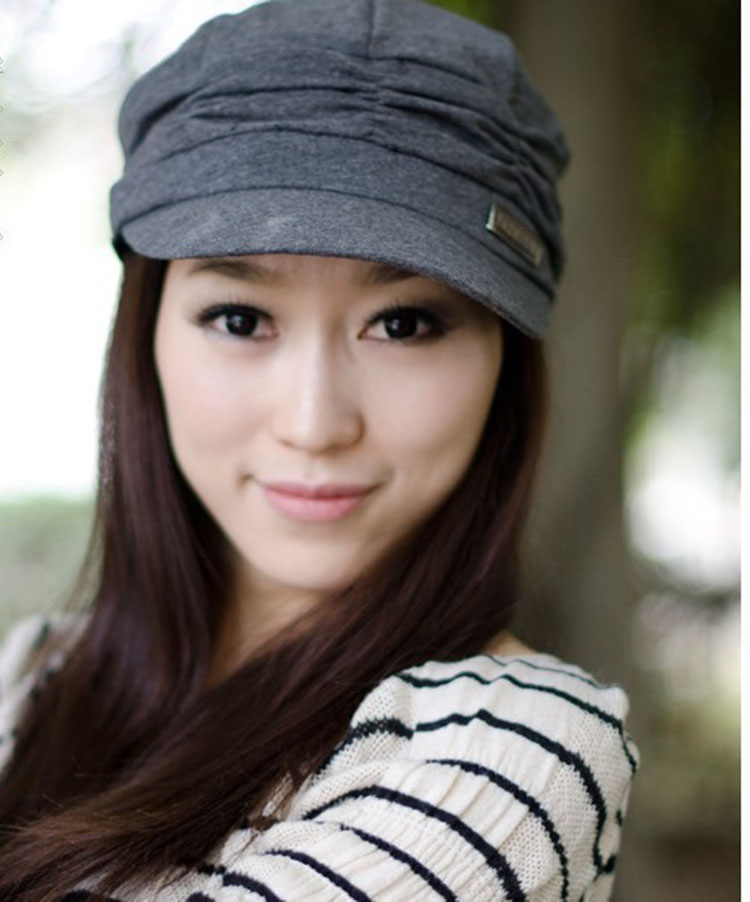Leisure Crumpled Keep Warm Fisherman Cap Hat For Women