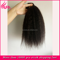 Manufacturer Direct Supplier Yaki Straight Indian Remy Human Hair Weft Low price