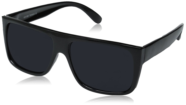 7a87c99915 zeroUV - Classic Old School Eazy E Square Flat Top OG Loc Sunglasses