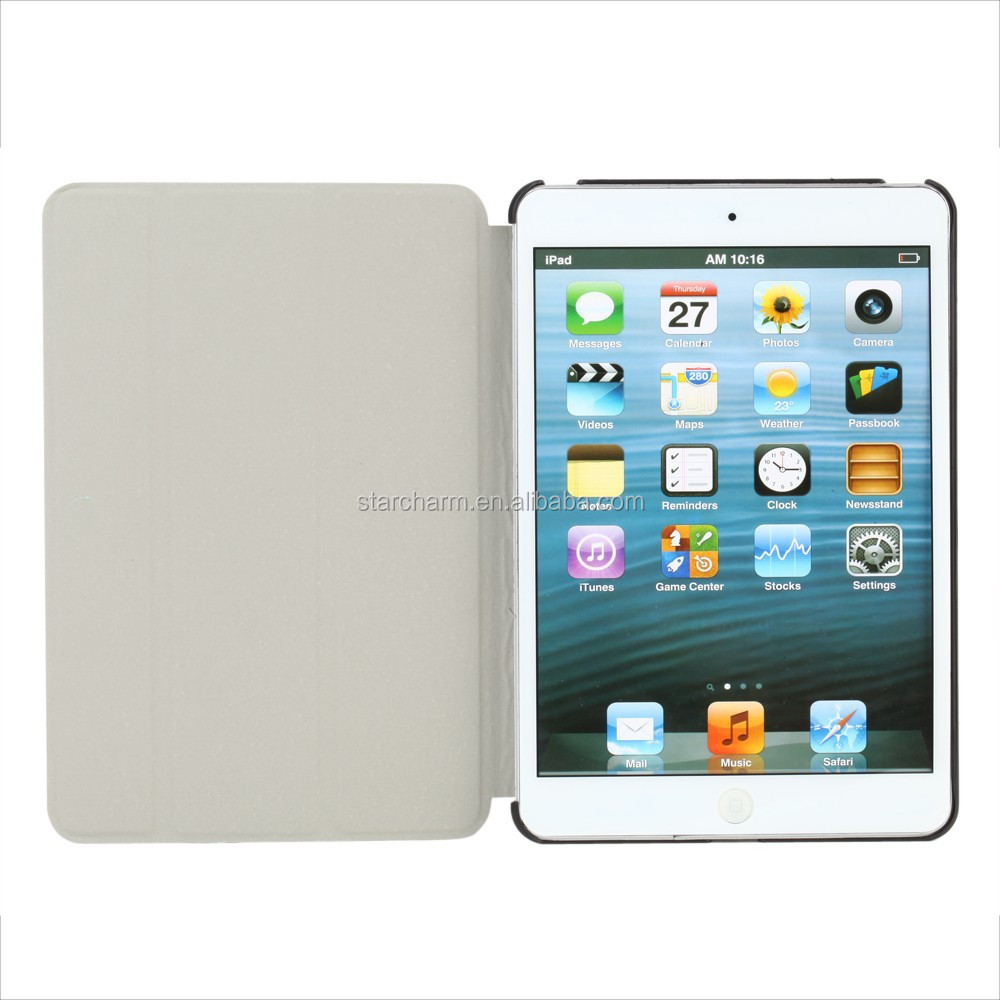business style flip stand leather case for ipad 2 3 4