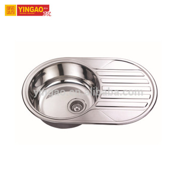 Super quality large stainless steel sinks, smallest bar sink