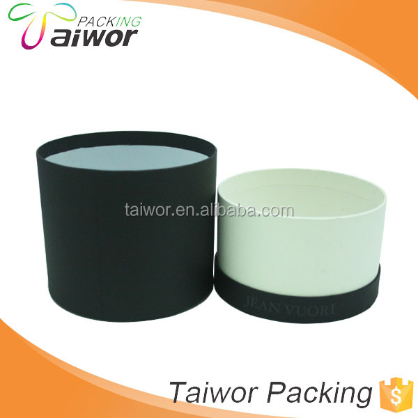 Customized candle packaging boxes paper tube package