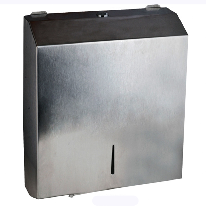Interleaf Stainless Steel Paper Towel Dispenser FS-003-C