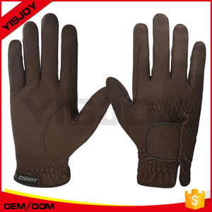 custom girp riding horse gloves,equestrian glove with optimum feel, dexterity