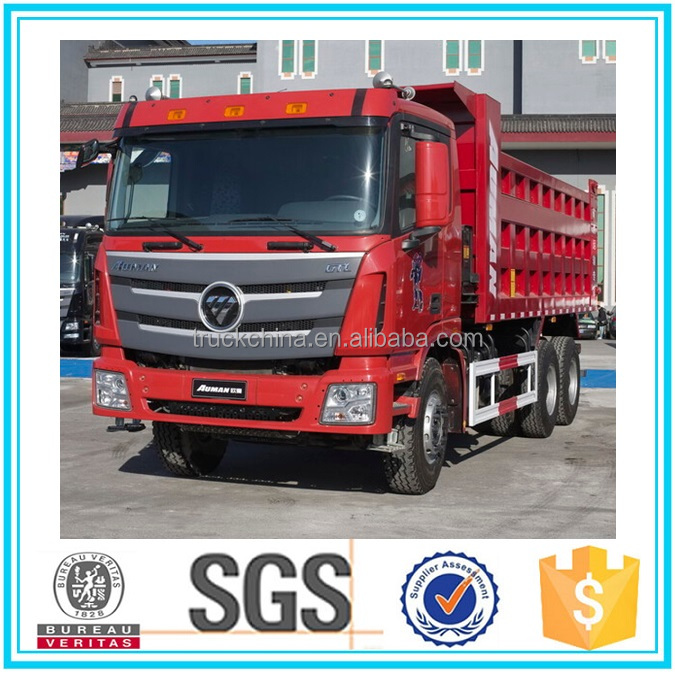 High Quality Technology FOTON 6x4 dump truck sand carrying truck