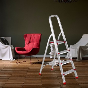 Library Step Chair Antique Ladder Aluminum Stair