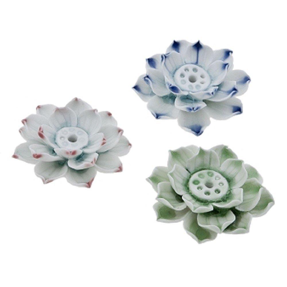 Buy small lotus flower ceramic decorative incense holder light blue small lotus flower ceramic decorative incense holder light blue izmirmasajfo