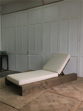 antique wood daybed outdoor lounge patio furniture