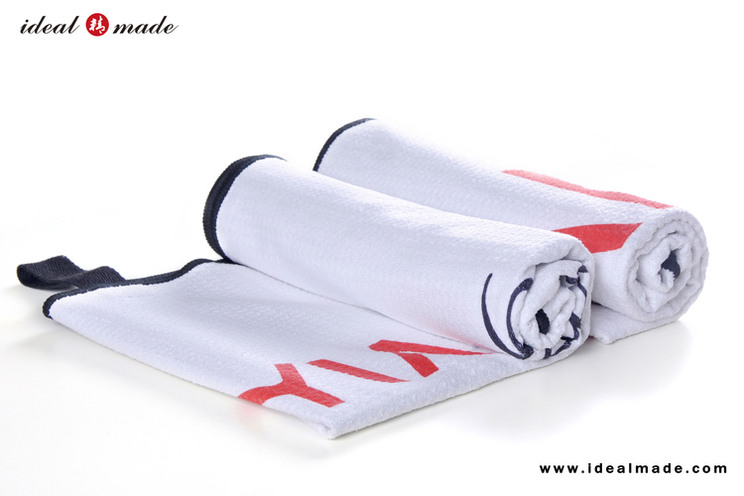 Discounted Low Price Microfiber Custom Logo Heat Transfer Print Sport Fitness Towel Asian Sport Trade Show 200pcs/Lot