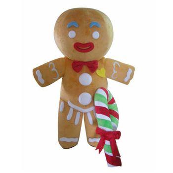neue niedrigere Preise hohe Qualität neuer Stil Party Kostüm Lebkuchen Maskottchen Kostüm Für Erwachsene Lebkuchen Mann  Kostüm - Buy Lebkuchen Mann Kostüm,Erwachsene Lebkuchen Mann ...