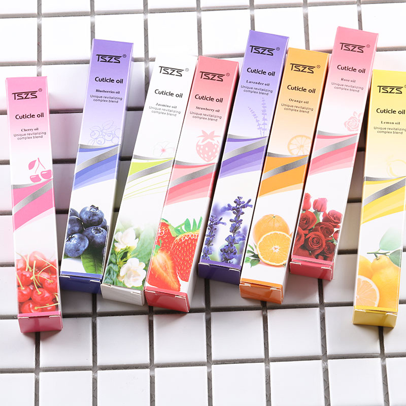 TSZS lavender jasmine Essential nail care cuticle Revitalizing oil pen