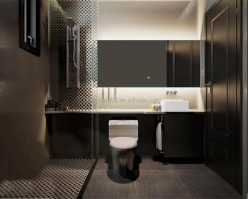 High Quality Bathroom Accessories Bath Mirrors Dongguan Mirror Led Illuminated Hotel Mirros