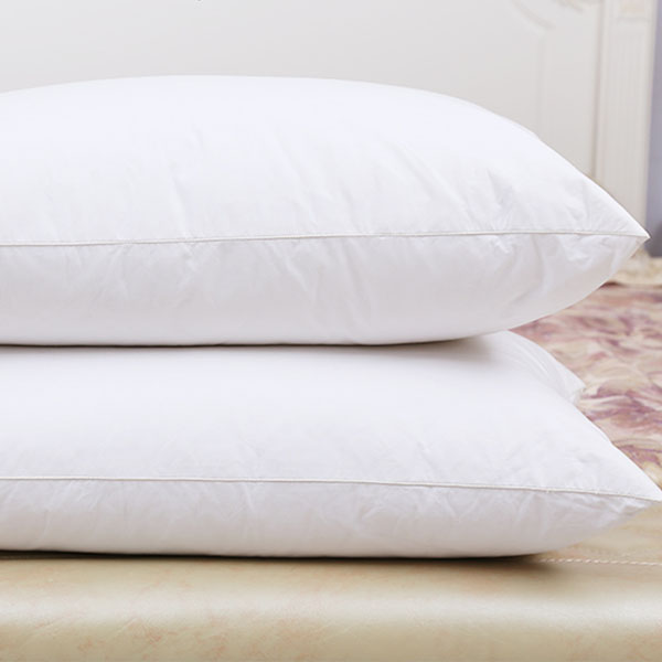 Cheap Wholesale White Plain Polyester Ball Fiber Vacuum Pillow For Hotel and Home