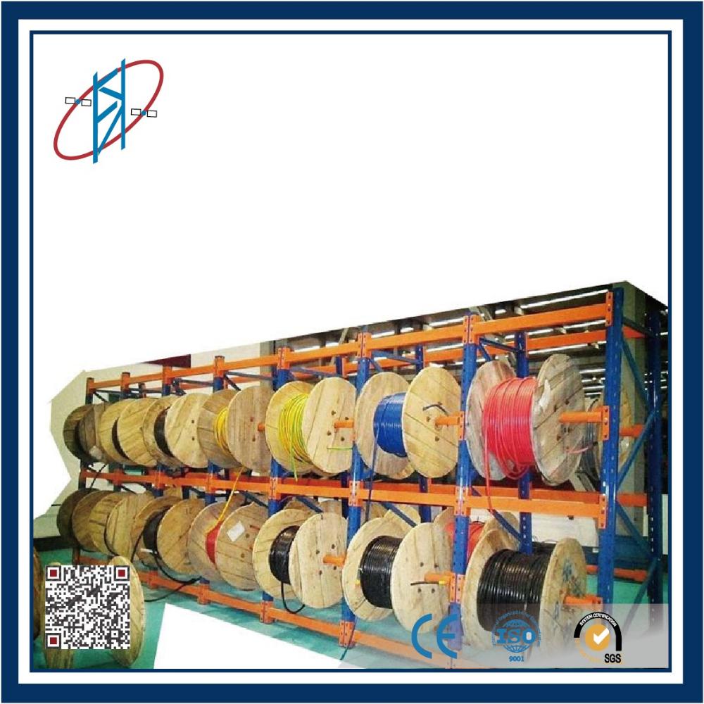 Adjustable Warehouse Steel Cable Reel Storage Rack - Buy Storage ...