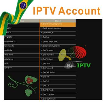 Test Gratuit Apk M3u Compte Iptv Subcription Pour Le Brésil - Buy  Apk,M3u,Essai Gratuit Product on Alibaba com