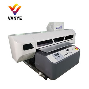 fast speed factory price pvc/card/pen/dtg flatbed uv led printer printed machine