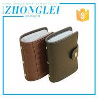 Lowest Cost Genuine Leather Vertical Credit Card Holder
