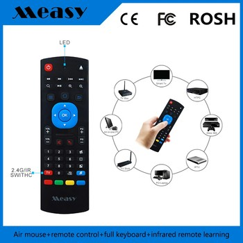 Rii Mini I25a K25a 2.4g Fly Air Mouse Wireless English Keyboard ...