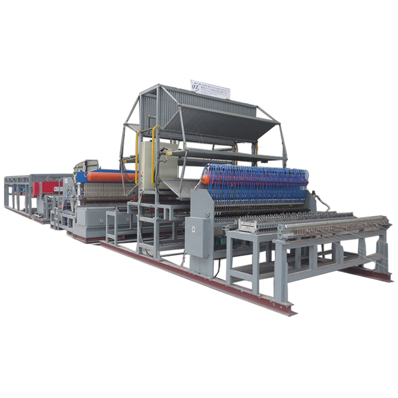 Automatic welded wire mesh machine for welded fence with grids