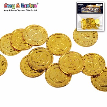 Metal Pirate Coins Bulk