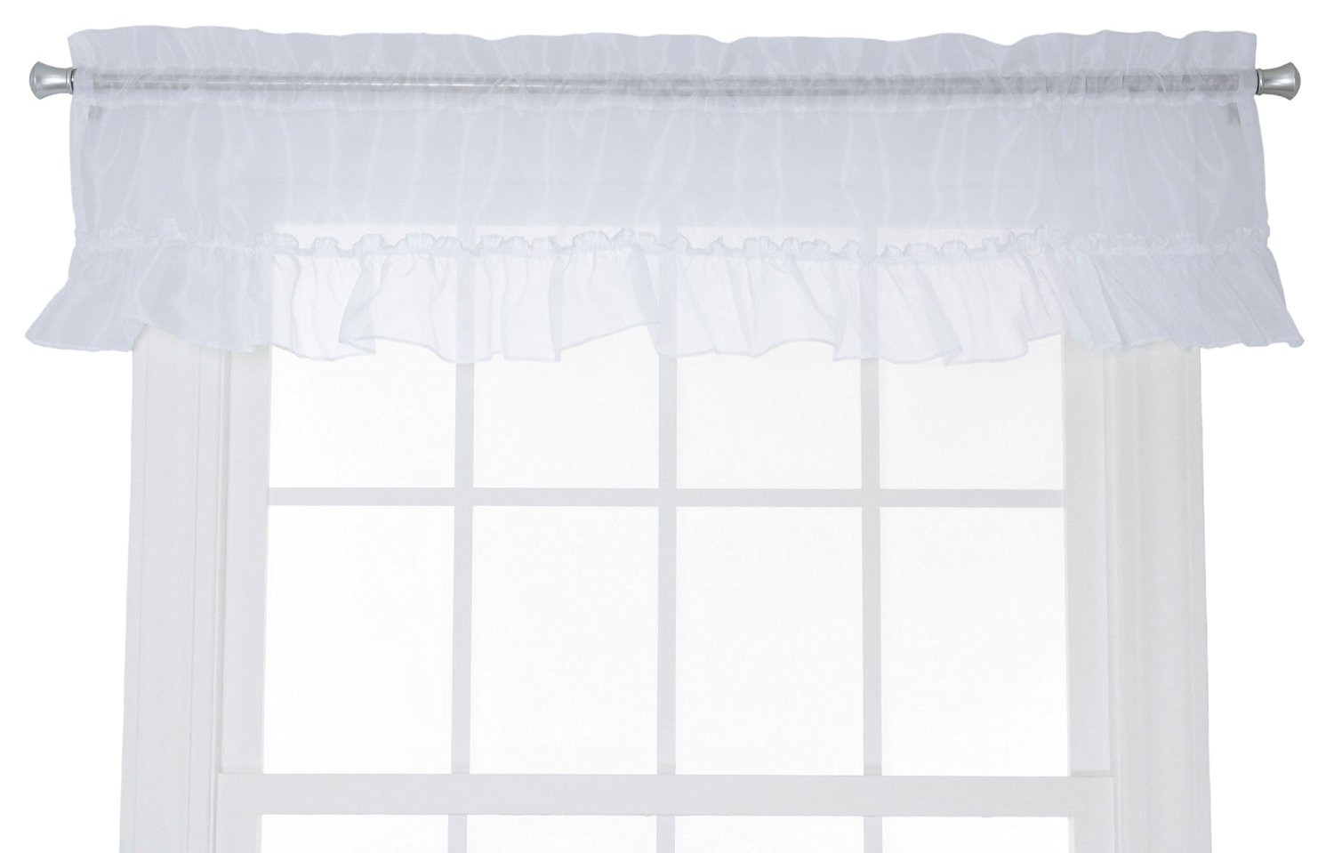 valance ascot treatment emelia double v p voile sheer x window valances