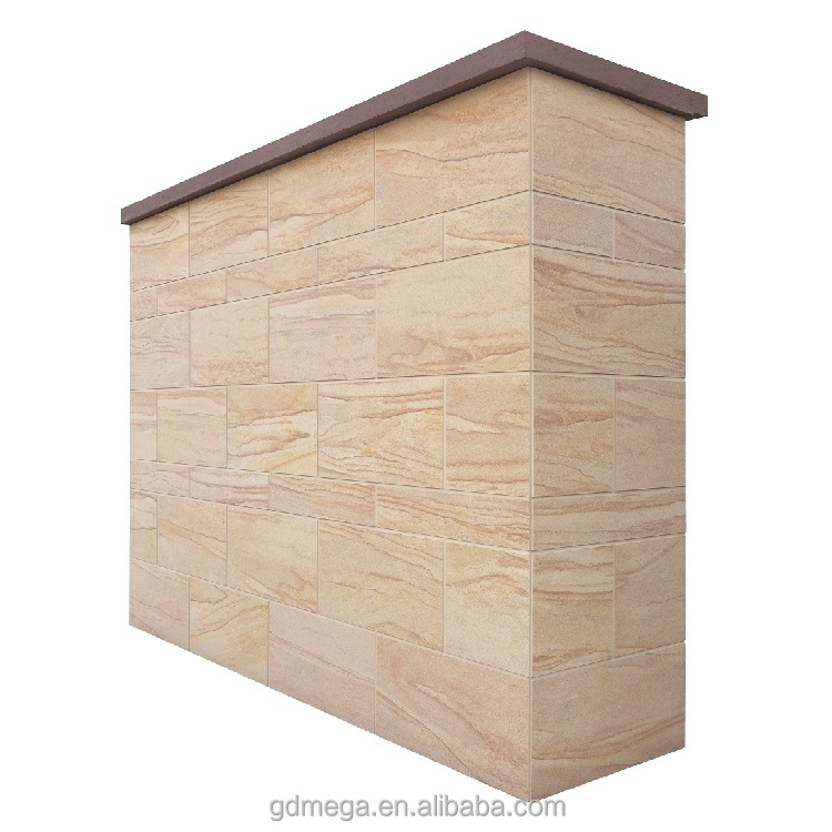 Sandstone wall panels in competitive price for high end buildings with strong adhesion
