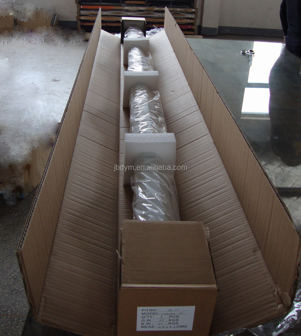 Large Portable Screen Rolled Up : Inch manual projector screen matte white pull down