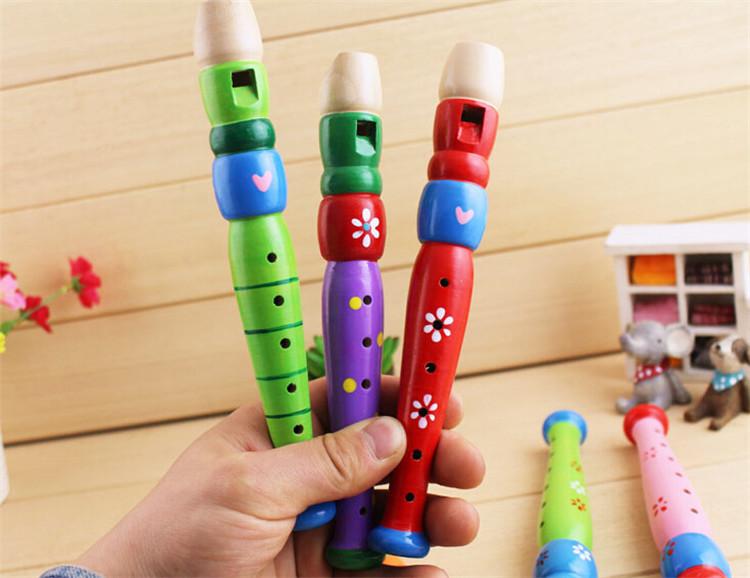 Hölzerne geschnitzte Kindergartenmusikinstrumente der Marke FQ hölzerne Flöte