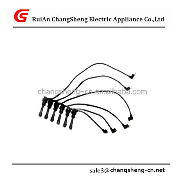 NEW HIGH QUANLITY Ignition Wire Set FOR MITSUBISHI 3000 GT J5385011 ZEF880 0300890880 B218 0986357218 MD193980 MD156560 MD331260