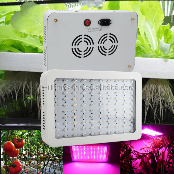 greenhouse square panel 300w hydroponic systems led grow light full spectrum