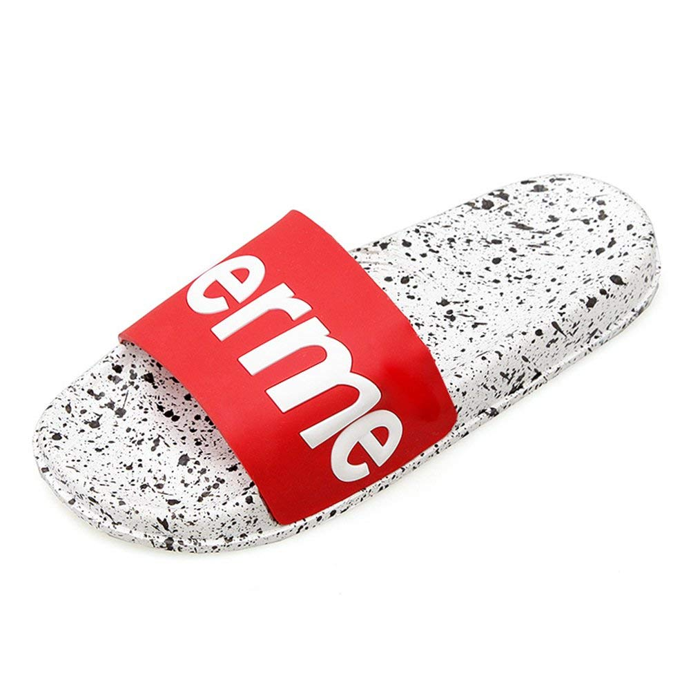 Eric Carl Boys Girls Shower Shoes Bathroom Slippers Gym Slippers Soft Sole Open Toe House Slippers