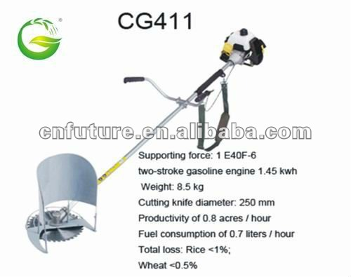 wheat and rice combine harvester QFG-CG411