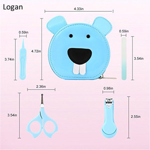 High quality cartoon baby health care kit BPA Free baby care