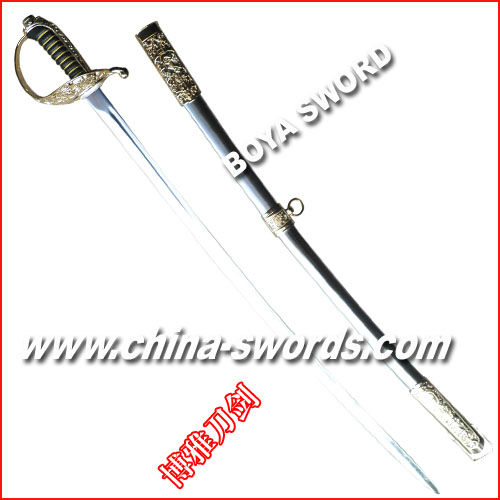 metal ceremony sword with stainless steel sheath BY111A