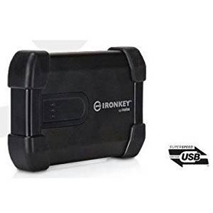 """IronKey 1 TB 2.5"""" External Hard Drive - USB 3.0 - MXKB1B001T5001-E"""