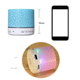 FACTORY DIRECT SELLING A9 Portable Wireless Blue tooth Speaker Crack Colorful Metal Card Mini Subwoofer Speaker