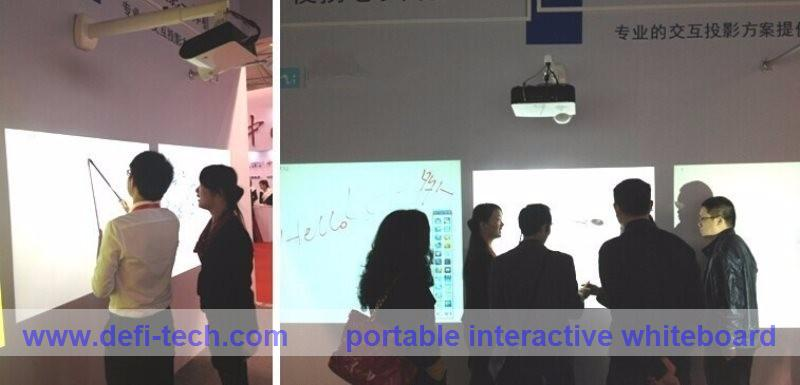 best price portable hci infrared interactive white board