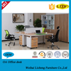Officefree combination desk with pedestal /office desk filing cabinet