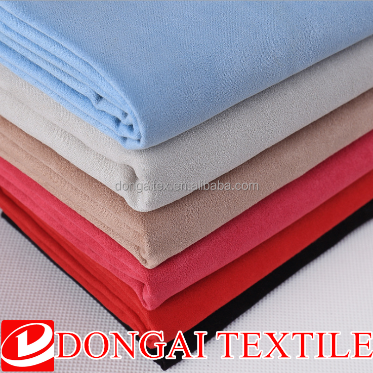 Artificial Suede for Sofa, Faux Suede Fabric for Apparel Suede Fabric