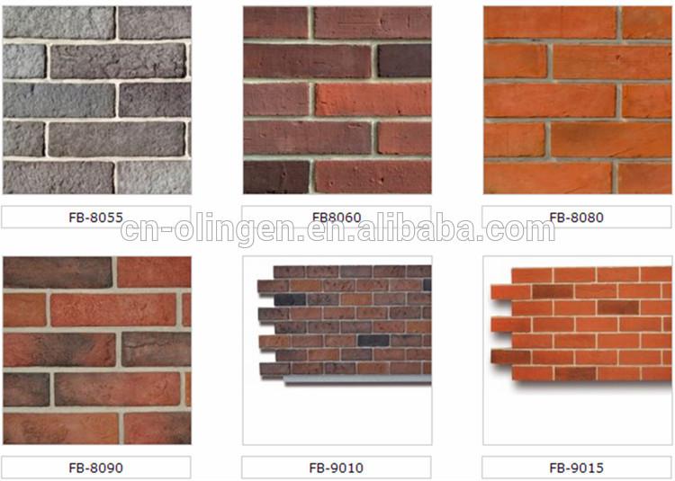 Waterproof Prefabricated Faux Brick Wall Panels Buy Prefabricated Wall Panels Faux Brick