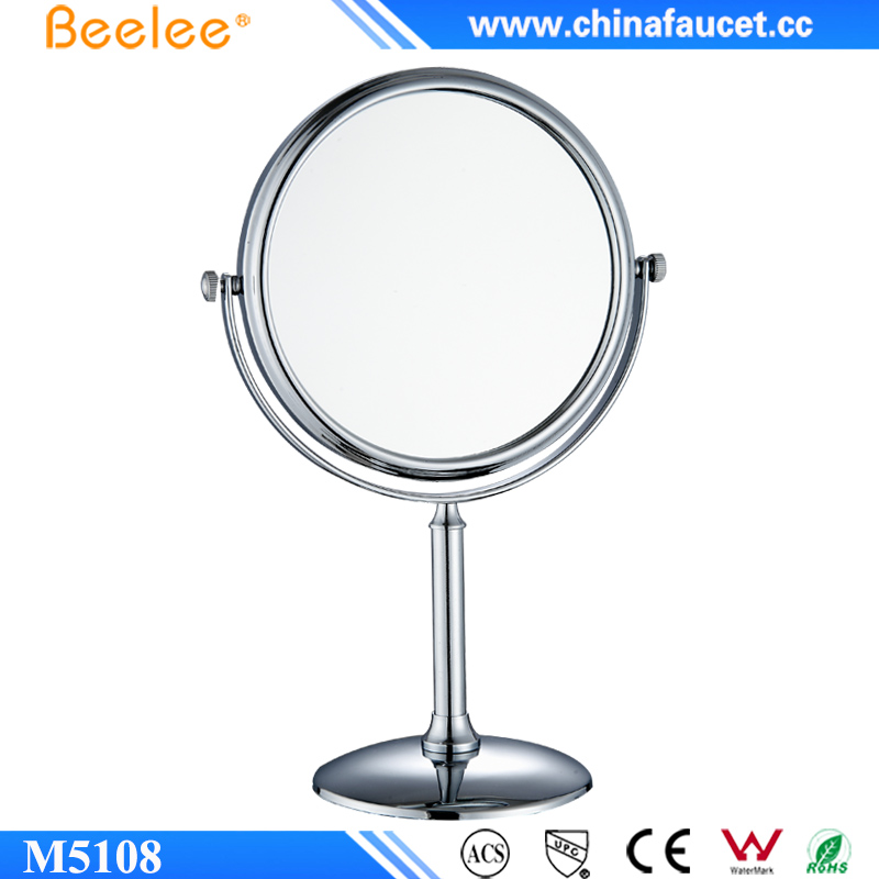 "Beelee M5108 Portable Table Vanity 8"" Salon Makeup Mirror with 1X:3X Magnification"