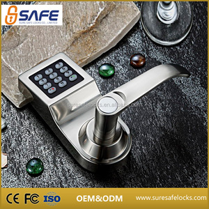 Top security digital password electric keypad main gate door lock