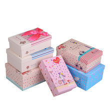 Custom Lid and Base Paper Gift Box with Printing Logo for Children Clothes , Shoes Packaging