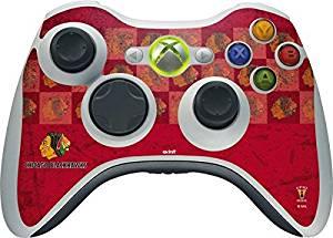 NHL Chicago Blackhawks Xbox 360 Wireless Controller Skin - Chicago Blackhawks Vintage Vinyl Decal Skin For Your Xbox 360 Wireless Controller