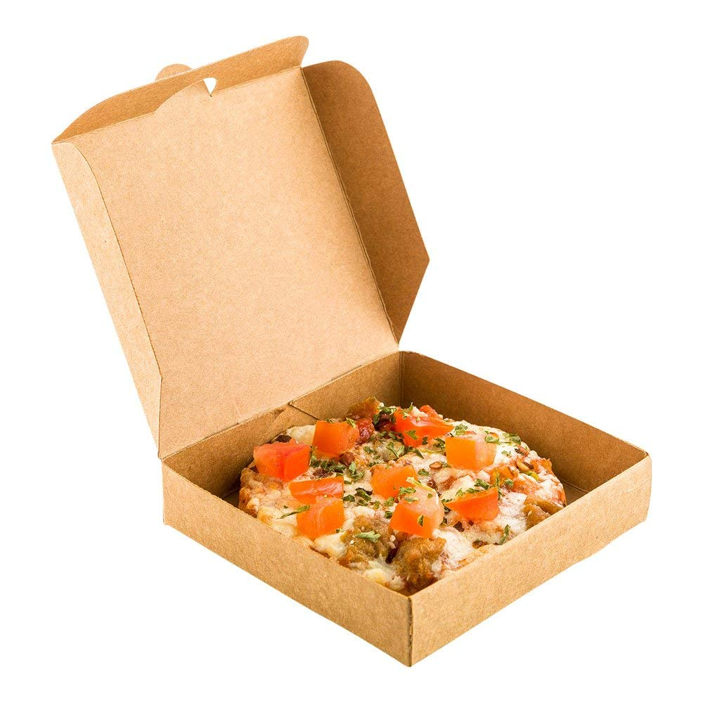 Get Quotations Mini Pizza Box Square Cardboard Disposable