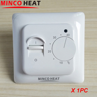 16A Electric Floor Heating Room Manual Thermostat Manual Warm Floor heating system Termostat 220V