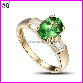 Chinese Manufacturers Oval Shape Metal Plated 18k Gold Ring Design