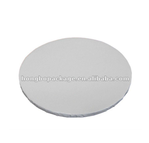 Wholesale 12mm Thick Round White PET Cake Drum